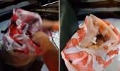 بالفيديو.. العثور على رضيع داخل كيس بلاستيك فوق دراجة نارية