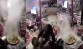 بالفيديو.. شباب يستهزئ بالطعام من أجل الشهرة
