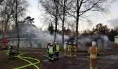 إصابة 5 أشخاص باختناق في حريق بمستشفى بألمانيا