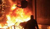 اشتعال حريق في عمارة بجدة بسبب التماس كهربائي