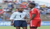 بالصور.. طفل يُحكِم مباراة بجنوب أفريقيا
