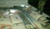 بالصورة.. ضبط شحنة صواريخ إيرانية كانت في طريقها إلى الحوثيين بمأرب