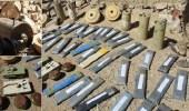 بالصور.. سامي غباري يكشف حجم أسلحة وألغام الحوثيين