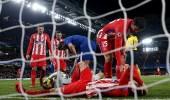 فيديو.. أتليتيكو مدريد يتعادل مع تشيلسي ويودع أبطال أوروبا
