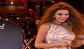 بالفيديو.. ميريام فارس تشعل المسرح برقصها المثير