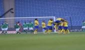 بالصور.. النصر يتغلب على الأهلي بثلاثية في دوري المحترفين