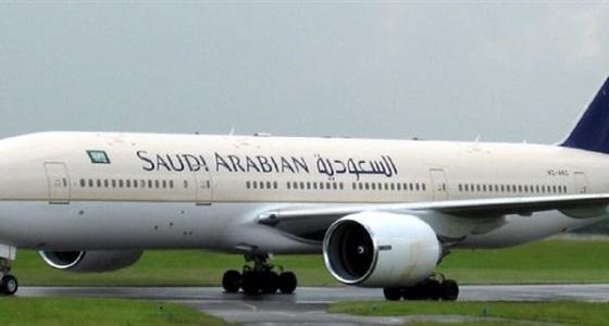 لدواعي السلامة.. طائرة سعودية تهبط اضطراريًا بمطار القاهرة