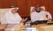 """"""" الجلعود """" يلتقي رئيس البريد السعودي"""
