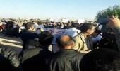 """بالفيديو..أهالي """" الأحواز """" المحتلة من إيران يهتفون لخادم الحرمين"""
