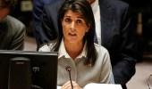 السفيرة الأمريكية: الصواريخ التي تسقط على المملكة تحمل بصمات إيرانية