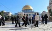 عشرات المستوطنين اليهود يجددون اقتحاماتهم للمسجد الأقصى