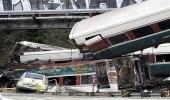ارتفاع أعداد القتلى والمصابين في حادث خروج قطار عن مساره في واشنطن