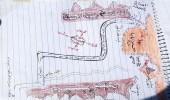 بالصور.. الحصول على خرائط ألغام الحوثيين في بيحان وعسيلان