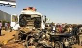 مقتل وإصابة 17 في حادث سير بالسودان