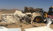 بالصور .. بلدية الشوقية تزيل 5 مخيمات و6 حظائر تشوه المنظر العام