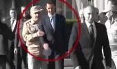 بالفيديو.. ضابط روسي يهين بشار الأسد أمام بوتين