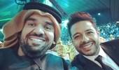 حسين الجسمي ومحمد حماقي يدعمان المنتخب