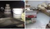 بالصور.. ضبط ومصادرة حوالي 1500 كيلو أغذية منتهية الصلاحية