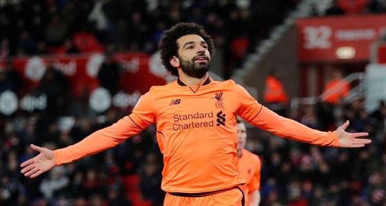 """محمد صلاح يقود """" ليفربول """" في تشكيل الدوري الأوروبي"""