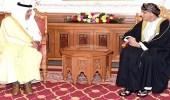 """"""" الفيصل """" ينقل تعازي خادم الحرمين لنائب رئيس الوزراء العماني"""