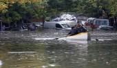 ألبانيا تتوقف عن العمل بسبب الفيضانات