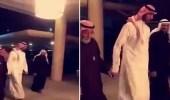 """أول ظهور للشاعر """" زياد بن نحيت """" بعد إطلاق سراحه"""