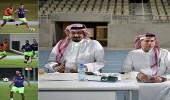 بالصور.. الأهلي يواصل استعداداته للقاء الاتفاق بدوري المحترفين