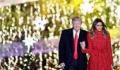 بالفيديو.. ترامب وزوجته في احتفالات عيد الميلاد