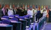 """بالصور.. """" آل الشيخ """" يتفقد القاعة الرئيسية لمنافسات الشطرنج"""