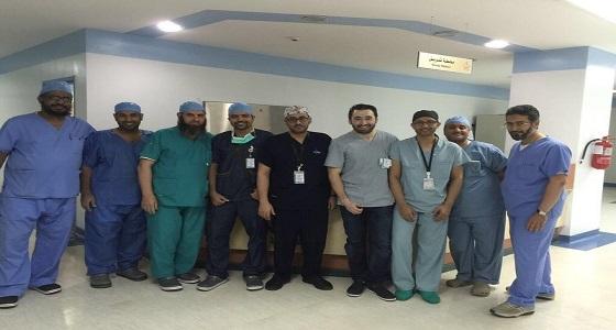 """نجاح عمليتي """" متلازمة النفق الرسغي """" بمستشفى الملك عبدالعزيز"""