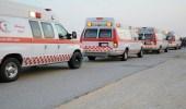 إصابة 5 أشخاص بينهم 3 أطفال بطريق الخواجات