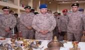 بالصور.. الرويلي يتفقد معرض القوات المسلحة لدعم التصنيع المحلي
