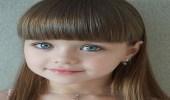 بالصور.. طفلة الـ 6 سنوات تتوج كأجمل وجه في العالم