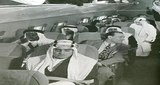 صورة نادرة للملك فهد أثناء تواجده بأمريكا