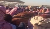 """تشييع جثمان أبوبكر سالم من مسجد """" الجوهرة """" بحي الياسمين"""