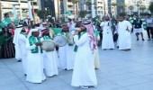 بالصور.. هكذا احتفل الطلاب السعوديون باليوم الوطني الإماراتي
