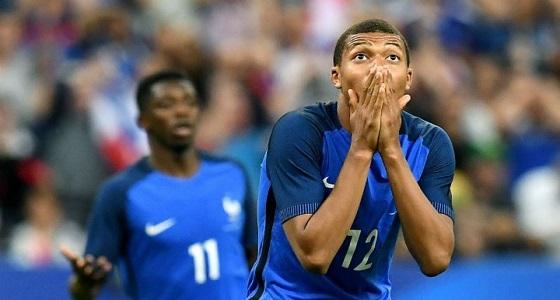 المنتخب الفرنسي في مواجهة الإيرلندي بشكل ودي استعدادًا للمونديال