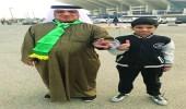 أسرة سعودية كويتية تجتمع على حب الأخضر