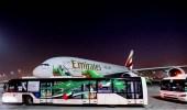 بالفيديو والصور.. مطار الملك عبدالعزيز في جدة يحتفي باليوم الوطني للإمارات