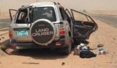 إصابة 5 أشخاص في حادث مركبة بالليث
