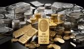 64 مليار دولار خسائر من الذهب والفضة حول العالم