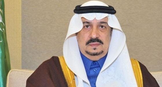 أمير الرياض يعزي أسرة الزيدان