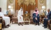 ولي العهد وولي عهد أبوظبي يبحثان المستجدات علي الساحة اليمنية