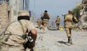 قوات يمنية تتلف مخلفات الحروب التي قادتها الميلشيات الحوثية بعدن
