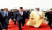 بالصور.. ملك الأردن يصل إلى الرياض