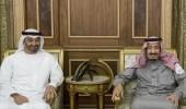 خادم الحرمين يلتقي ولي عهد أبوظبي لبحث تطورات الأوضاع الراهنة في المنطقة