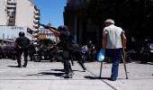 للاحتجاج على قانون المعاشات.. اشتباكات بمحيط برلمان الأرجنتين