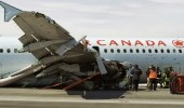 تحطم طائرة ركاب على متنها 25 شخصًا في كندا