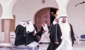 صورة قديمة تجمع القيادات الملكية الراحلة بالطائف