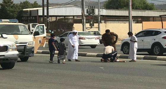 دهس طفل بالطائف لسيره في مكان غير مخصص للمشاة